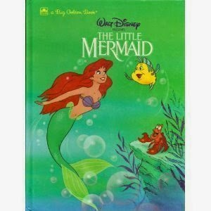 Disney's The Little Mermaid: A Big Golden Book by Michael Teitelbaum