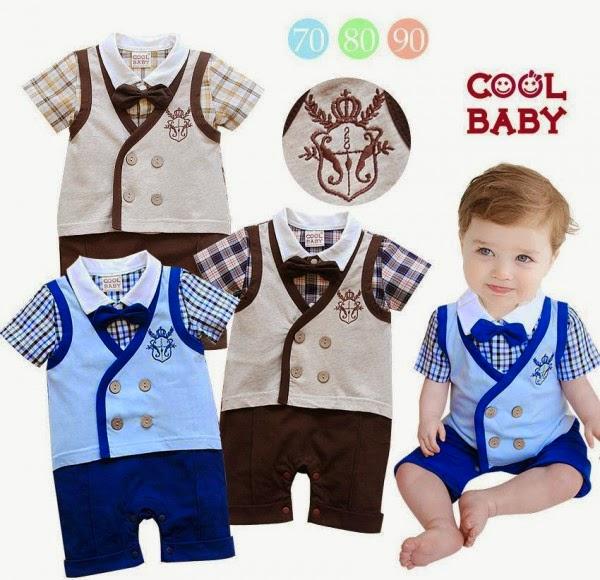 Model Baju Bayi Laki-Laki Terbaru