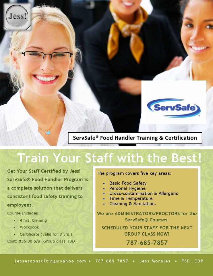 Food Handler Certification Program Hemet Ca