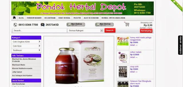 Pondokherbal.com toko online terpercaya