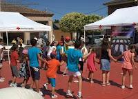 Colaborando con cruz Roja _ZUMBA en Segovia_Evento educativo y solidario