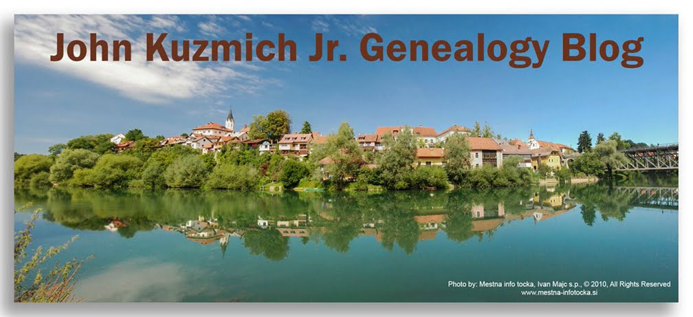 John Kuzmich, Jr. Genealogy Blog