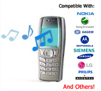 Free Mobile MP3 Ringtones Download for all mobile phones nokia,LG,Samsung,Apple and all