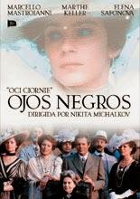 Ojos Negros (1987) Cartel