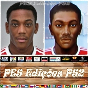 Anthony Martial (Manchester United) PES PS2