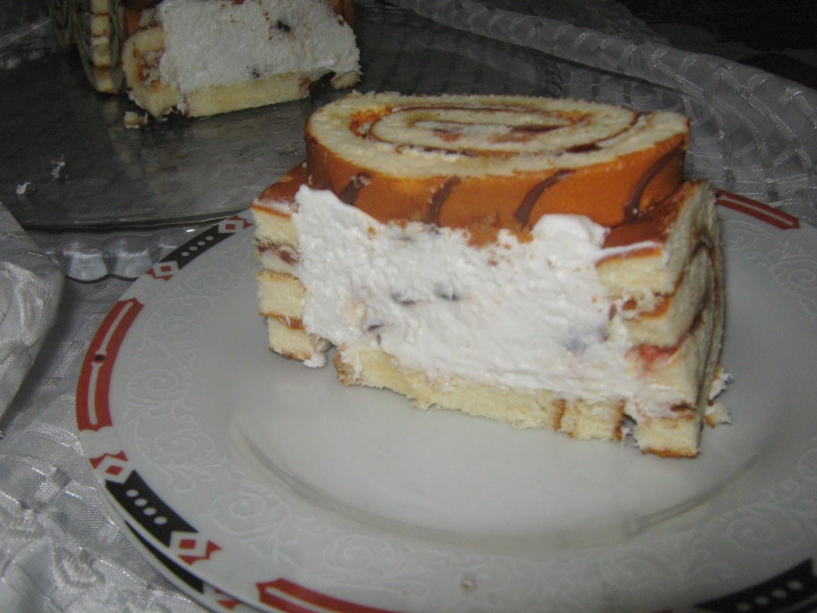 rulo pasta,pratik pasta,rulo kekli pasta,krem şantili pasta,pasta,şarlot pasta