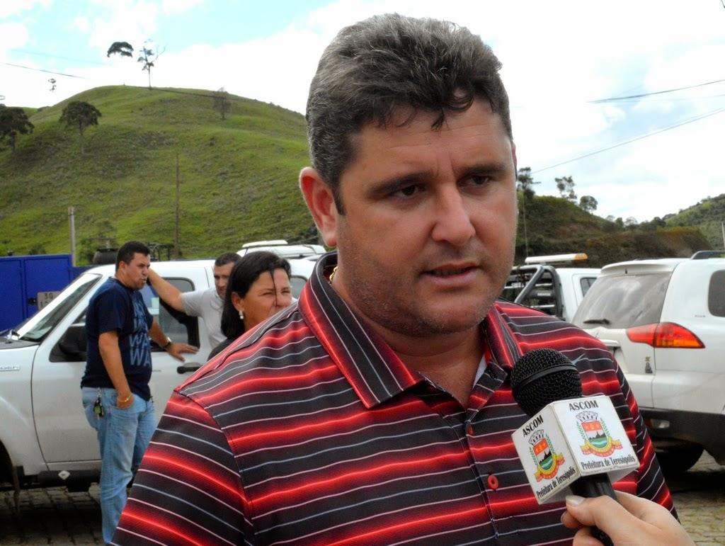 Prefeito Arlei ressalta a importância das vias de acesso para escoamento da produção agrícola