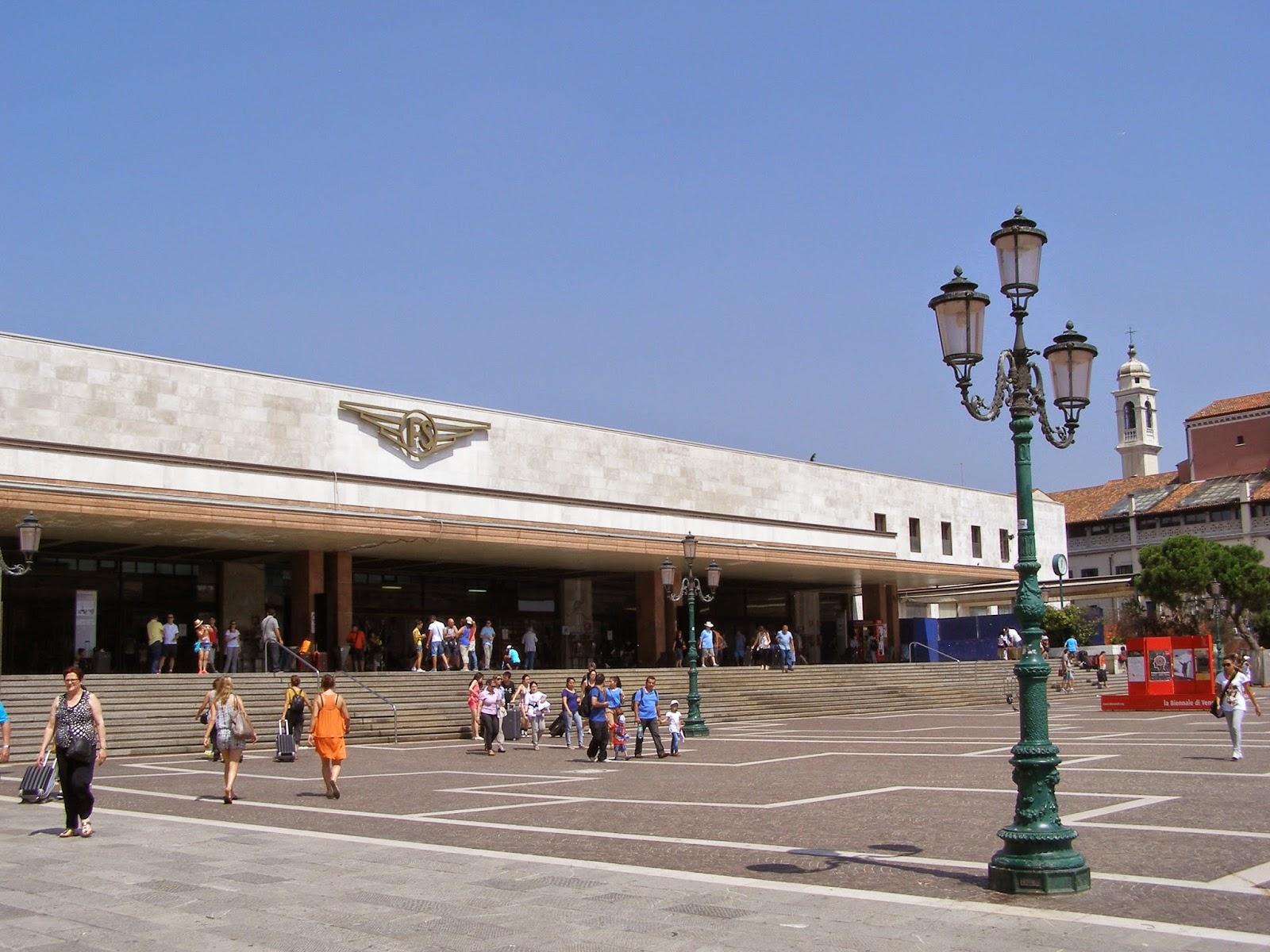 dworzec kolejowy Santa Lucia