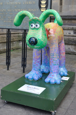 Poetry in Motion Gromit (side view)
