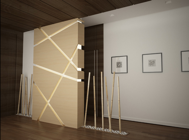 bamboo room divider use ideas