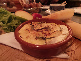 Baked Camembert at The Botanist