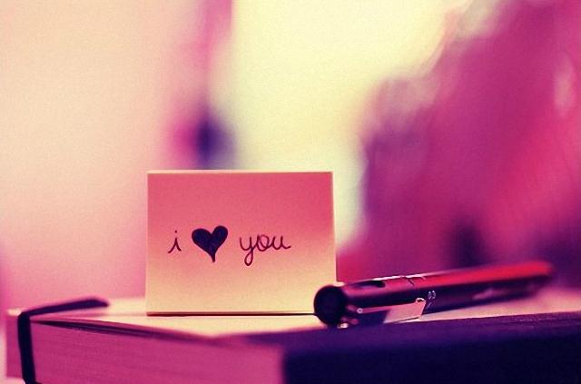 Un corazón en un te amo