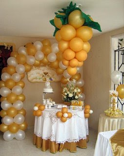 Florister a casa verde decoraciones para primeras - Decoracion comuniones en casa ...