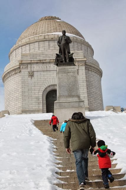 President McKinley Memorial Building via www.happybirthdayauthor.com