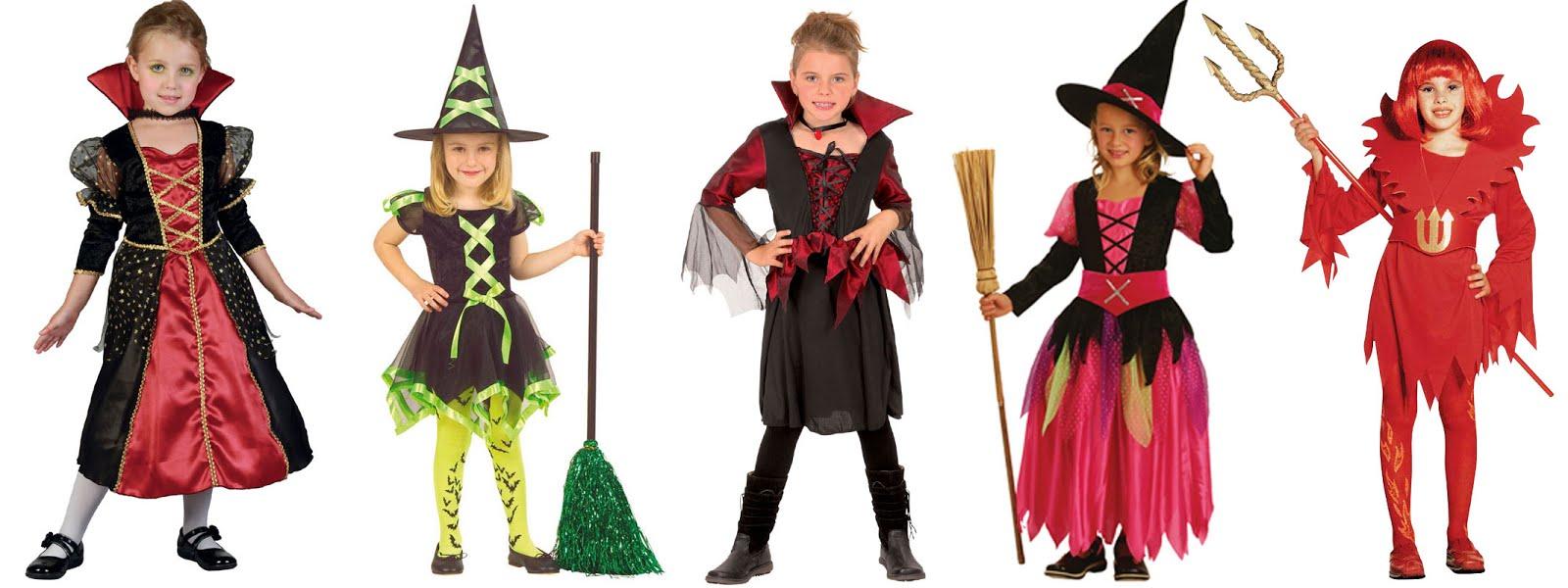 Pige Halloween Kostumer