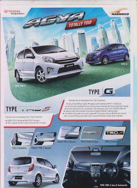Spesifikasi Toyota Agya Semarang