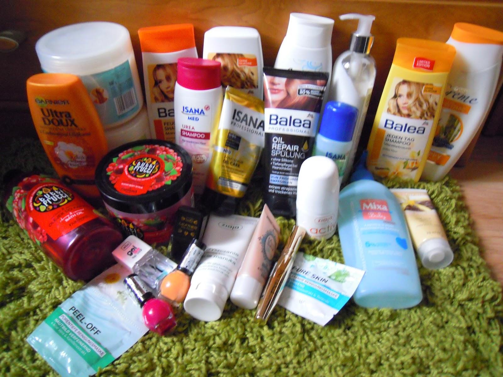 Nowości kosmetyczne październik i listopad 2014