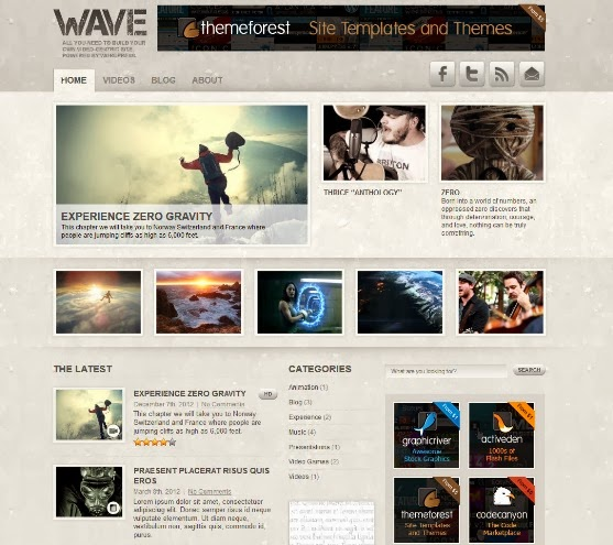 Wave - Video Theme for WordPress