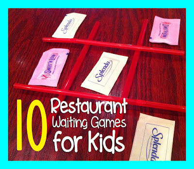 10 Restaurant Waiting Games For Kids