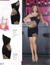vestido moda otoño 2012