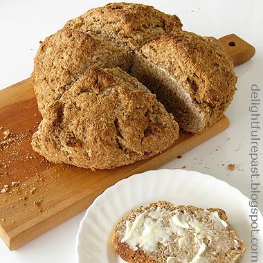 Delightful Repast: Irish Brown Bread - Irish Soda Bread