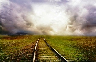 treno nella prateria