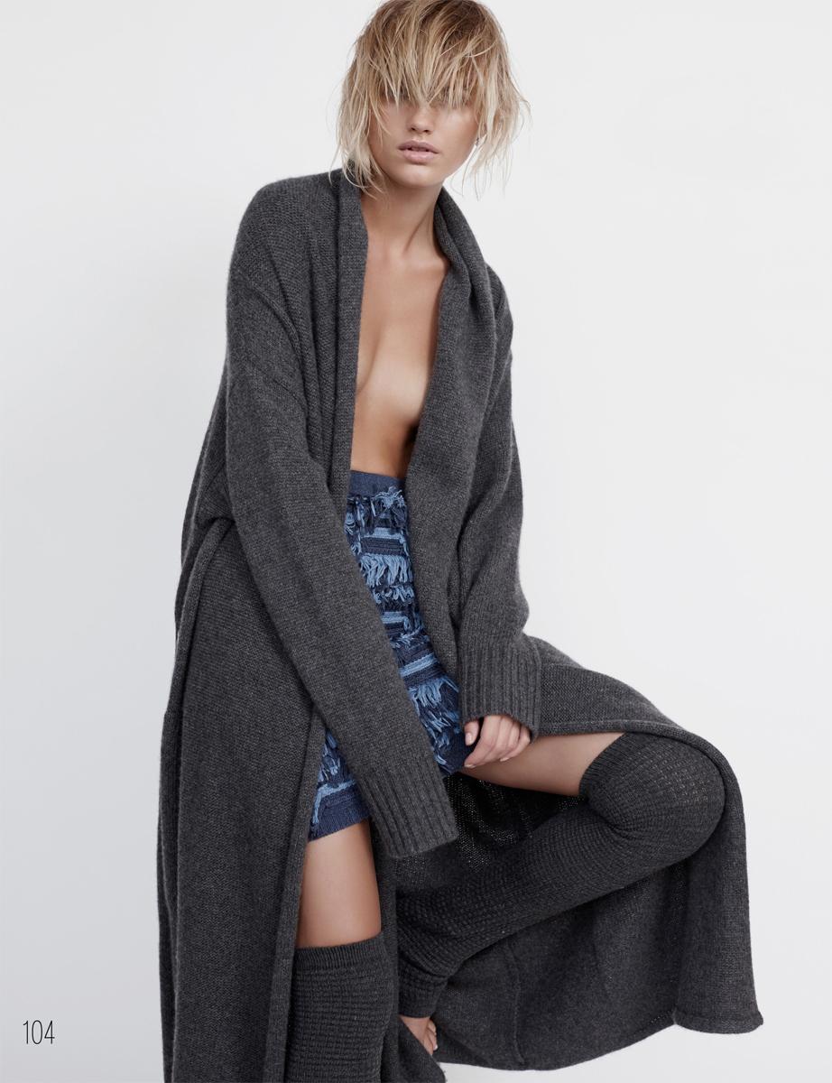 Close knit | Elle Australia February 2015 (photography: Stephen Ward, styling: Sara Smith) via fashioned by love