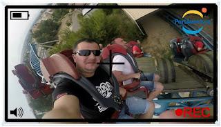 Furius Baco 135km/h - 3 Sec -  Roller Coaster On Ride  | PortAventura 2015