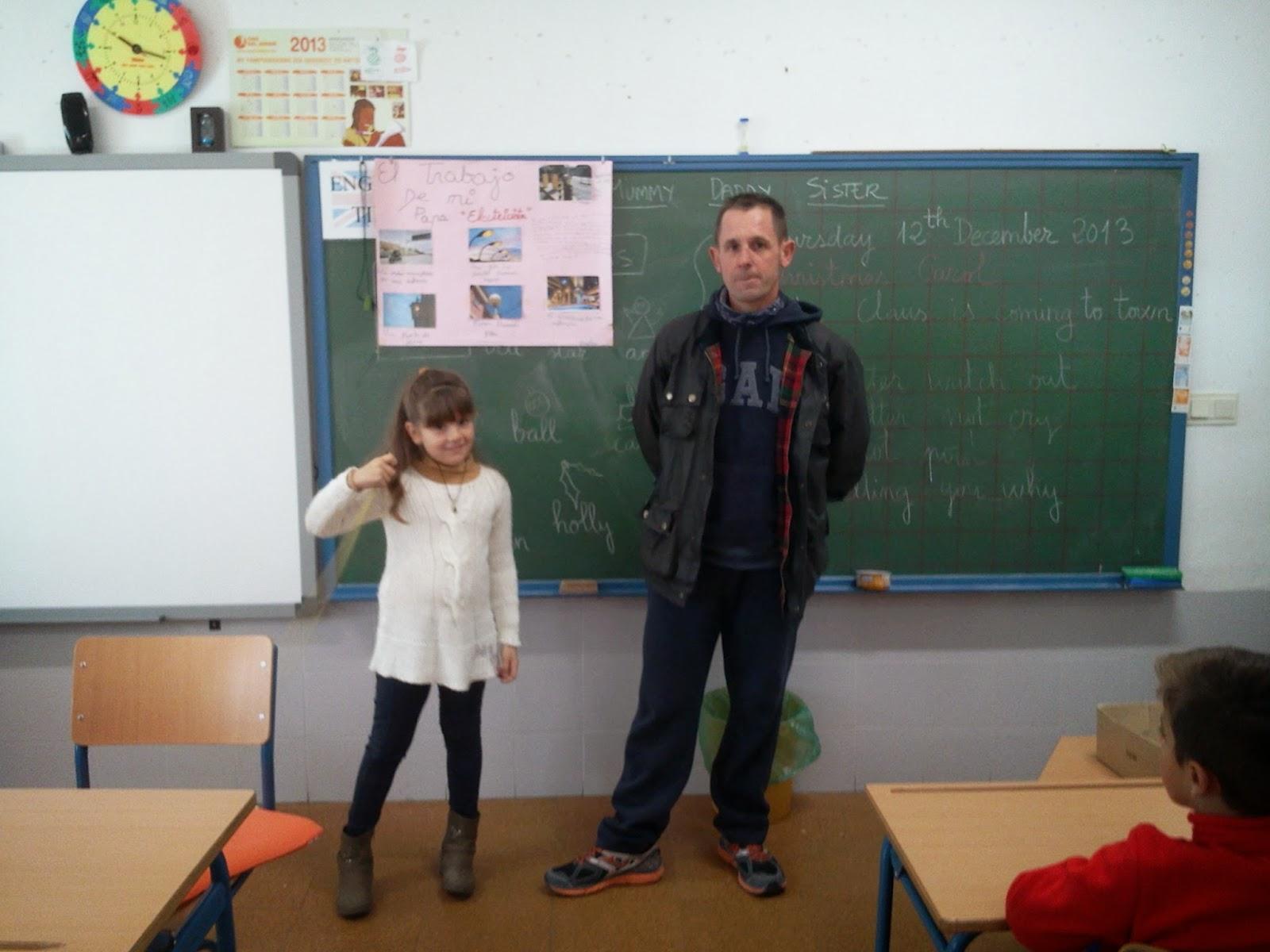 Ceip el zargal second grade a el trabajo de mi pap for Trabajo de electricista en malaga