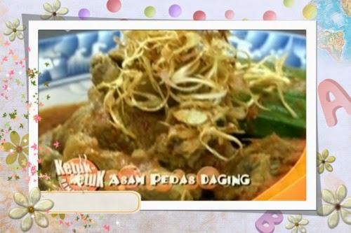 Ketuk Ketuk Ramadan bersama Nad Zainal, Tesco Peringgit, Udang Masak Cencalok, Daging Asam Pedas