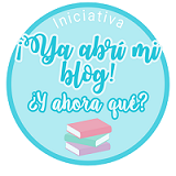 Ya abrí mi blog