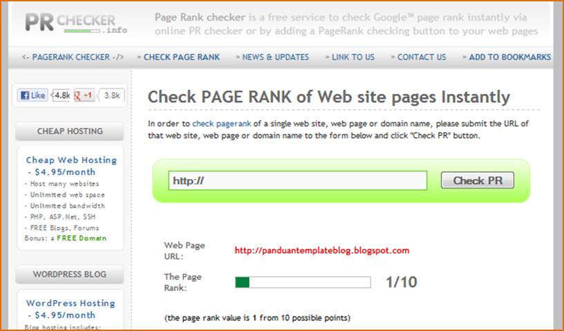 Pagerank Google Meningka