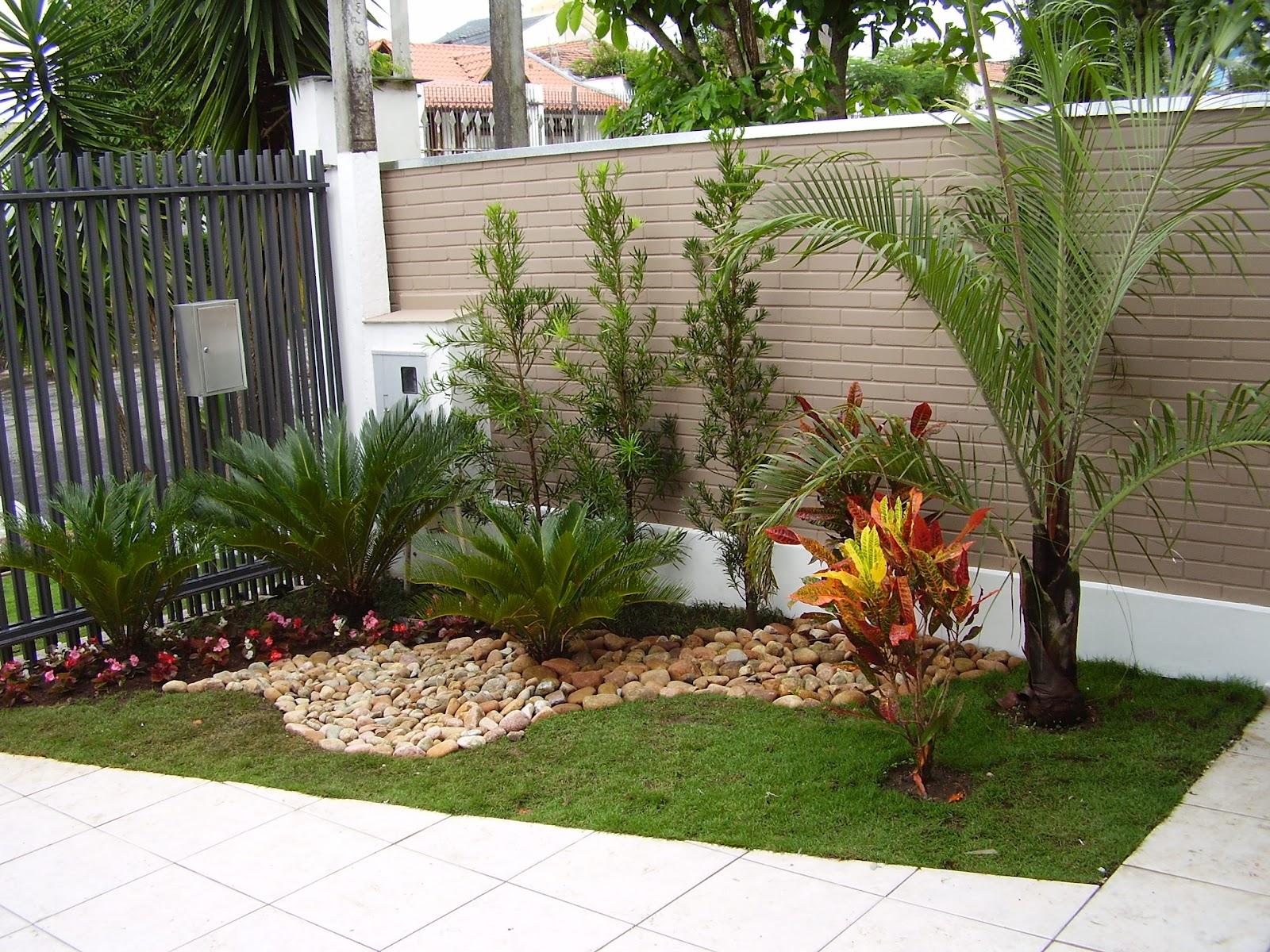 fotos jardins pequenos residenciais:Casa De Jardin Pequeno