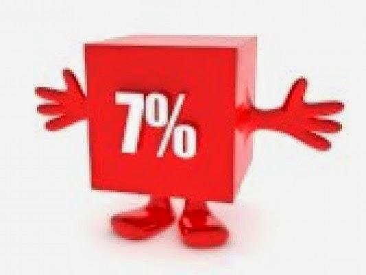 7% DTO EN TODOS LOS PRODUCTOS