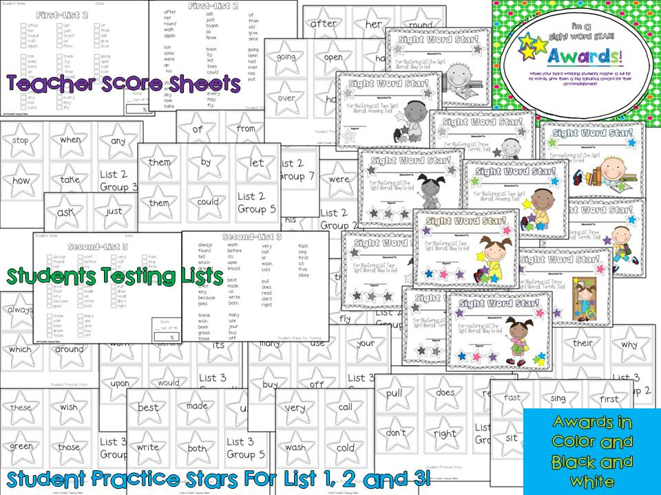 Sight words and thinking maps tunstalls teaching tidbits sight words and thinking maps sciox Image collections