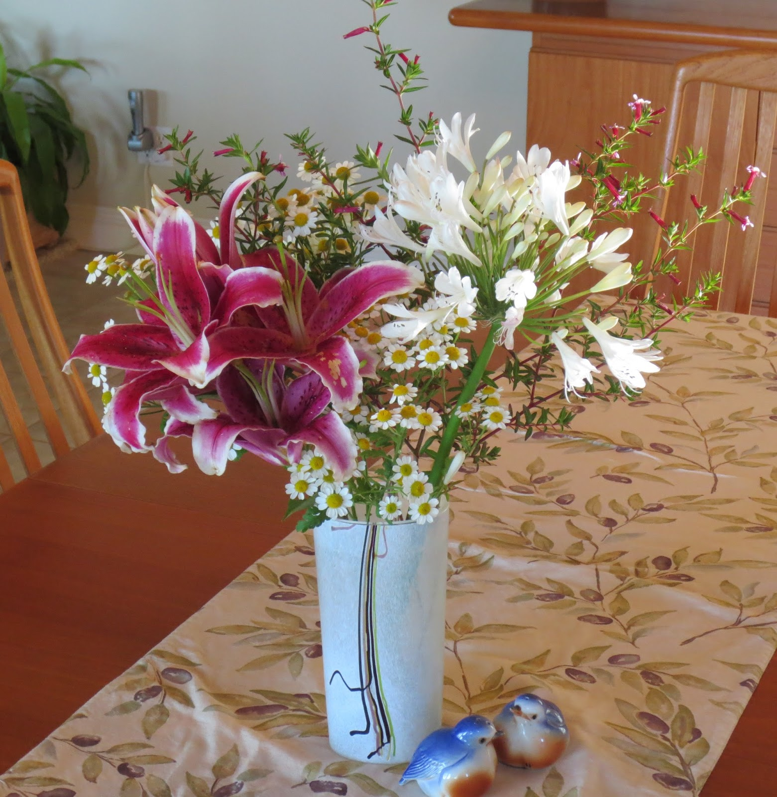 Late to the Garden Party: Bouquet: Summer's Last Hurrah?