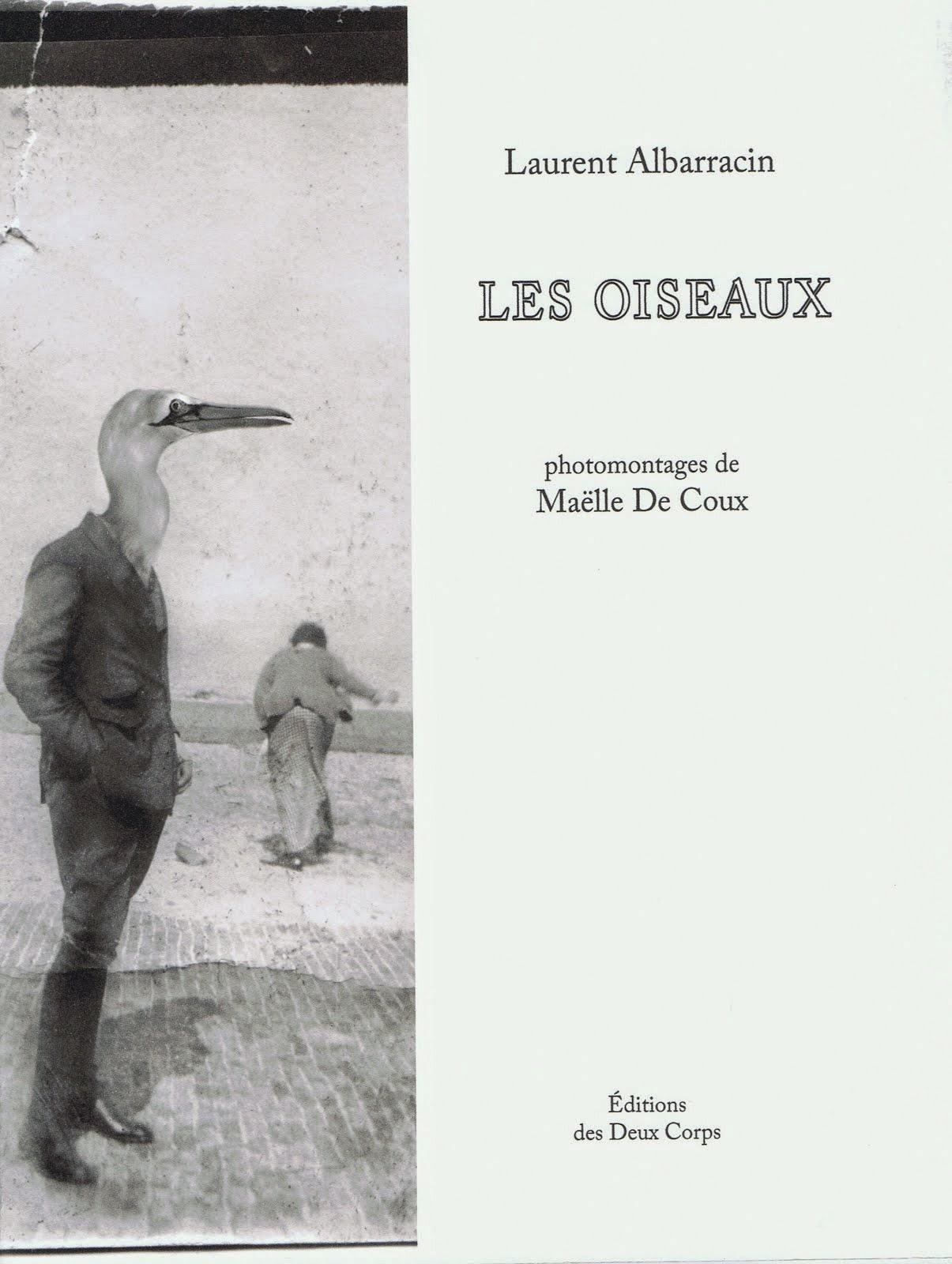 Laurent ALBARRACIN, LES OISEAUX, ÉDITIONS des DEUX CORPS, 2014