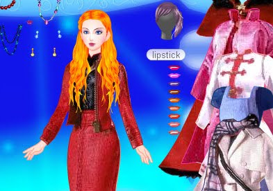 Barbie secretaria juego vestir