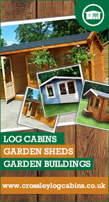 Crossley Log Cabins – UK Manufacturer of high quality Garden Buildings