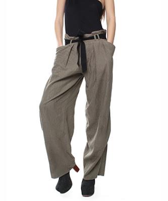 Linen Samurai Pants