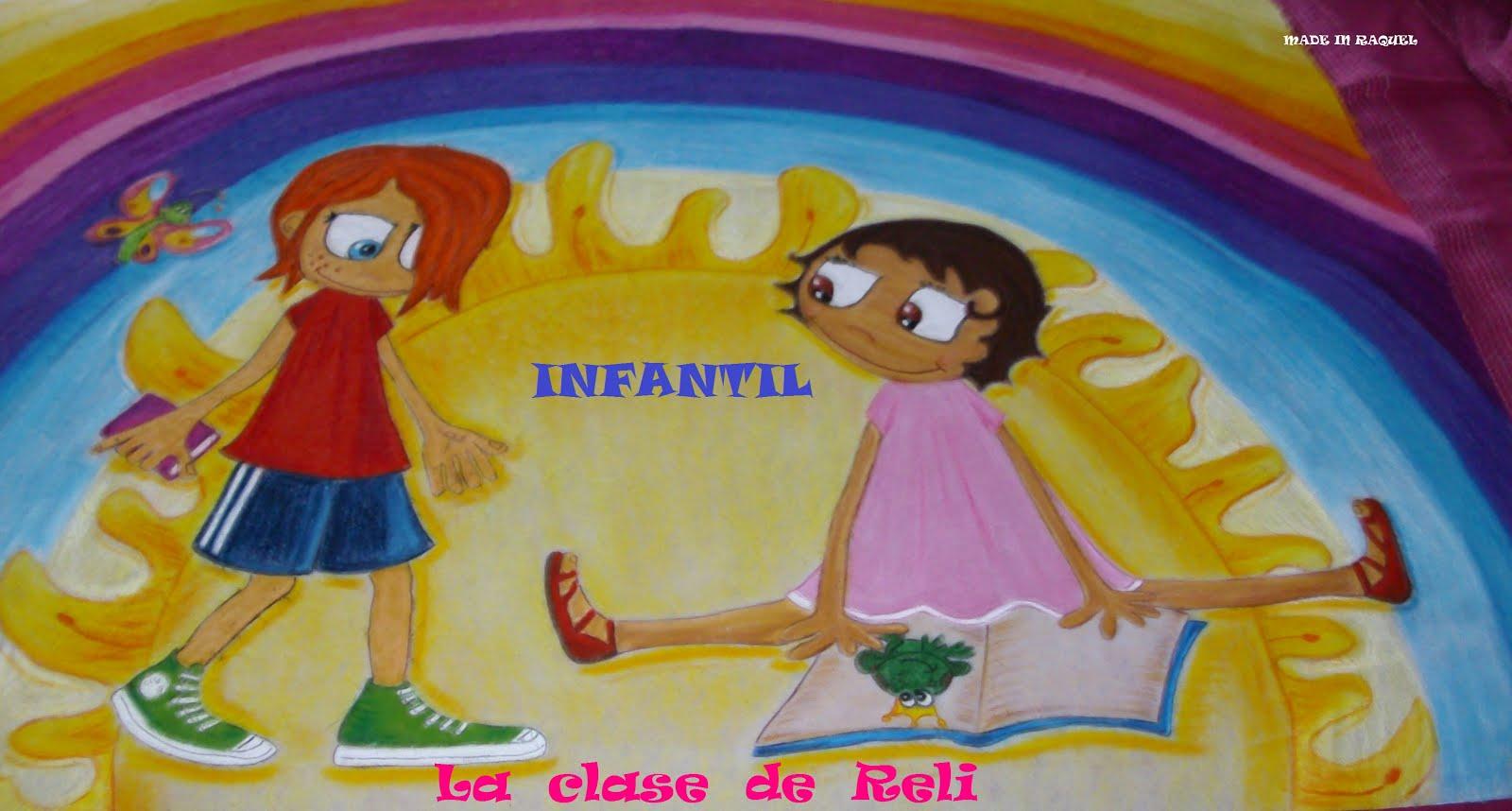 Infantil, la clase de Reli