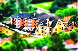 Casas - efeito tilt shift