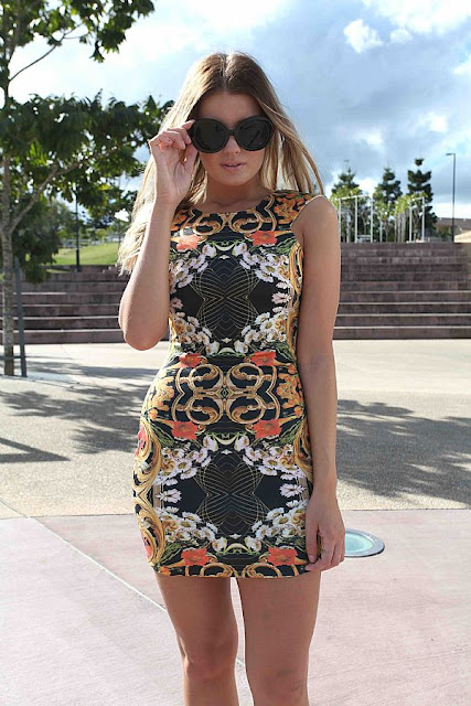 SEPTRUM FLUER DRESS from Xenia
