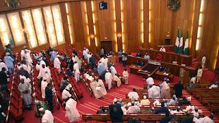 Senate adjourns sitting as fire guts chamber