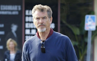 Pierce Brosnan in Malibu in December