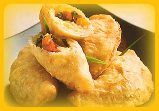 Empanaditas de quinua y mozzarella