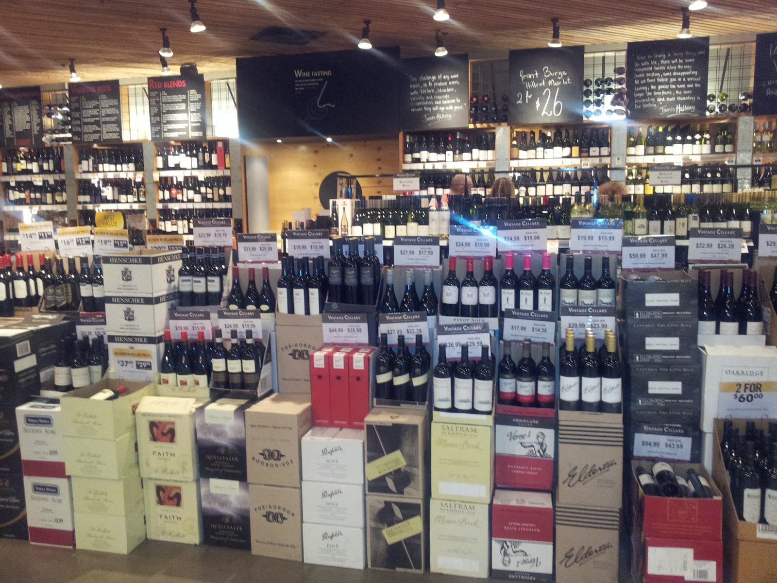 I am currently travelling in Queensland Australia working with our major clientu0027s key stores; Vintage Cellars and First Choice. & Birth of a Wine