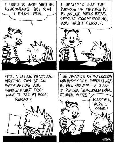 Media Sport and Other Rantings: Gotta Love Calvin and Hobbes