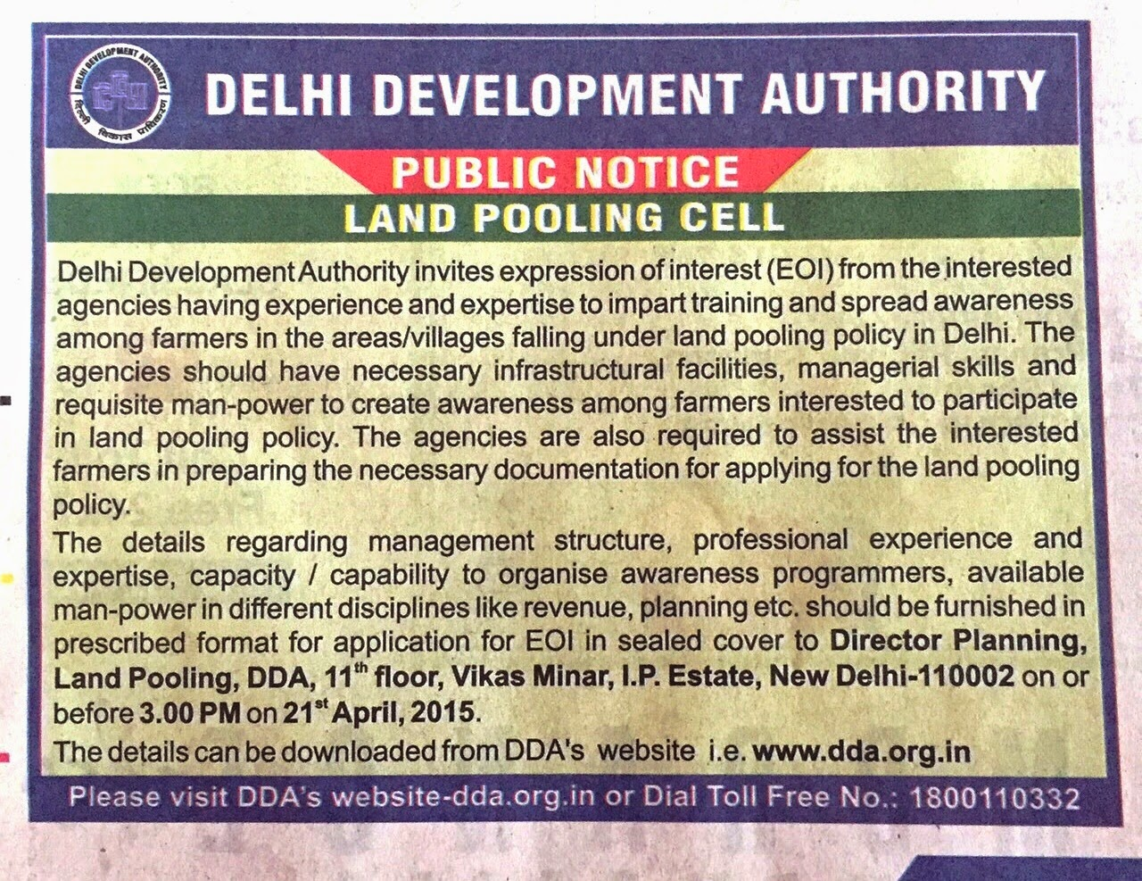 dda l zone delhi under this policy officials said the private sector would be responsible for assembling land which would then be made available to the dda for
