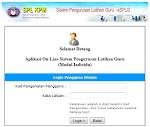 Sistem Pengurusan Latihan GURU (SPLG)